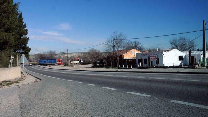 Foto de archivo de la carretera regional Arganda-Chinchón.