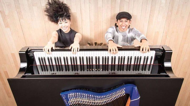 La pianista Hiromi y el arpista Edmar dan el concierto más transgresor del año