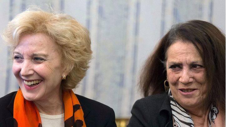 Marisa Paredes y Terele Pávez
