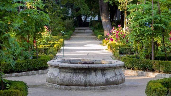 Vista general de una de las instalaciones del actual Jardín Botánico de Madrid.