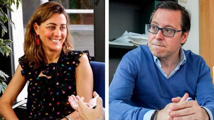 Lorena Ruiz-Huerta y Alfonso Serrano visitan 'Com.Permiso'