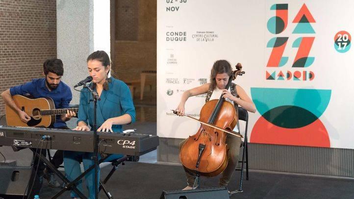 Actuación de jazz en la presentación de JazzMadrid'17