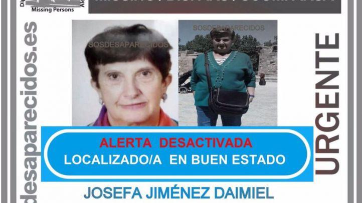 Encontrada la mujer desaparecida en Alcobendas.