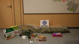 Detenidas cinco personas por tráfico de marihuana en Fuenlabrada
