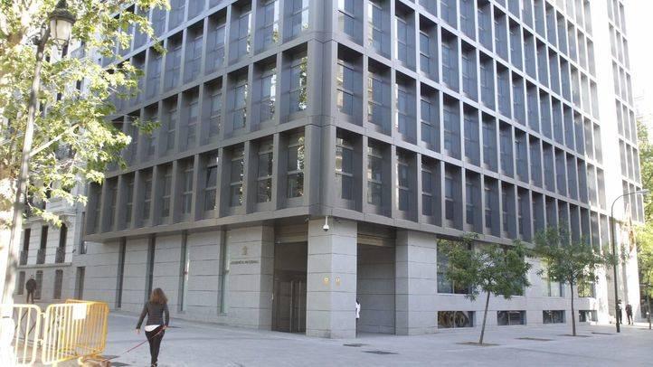 Sede de la Audiencia Nacional en la plaza de la Villa de París.