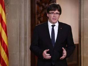 Puigdemont amenaza a Rajoy con declarar la independencia