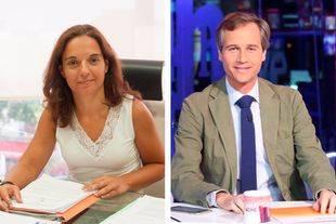 Sara Hernández y Antonio González, en los micrófonos de Onda Madrid
