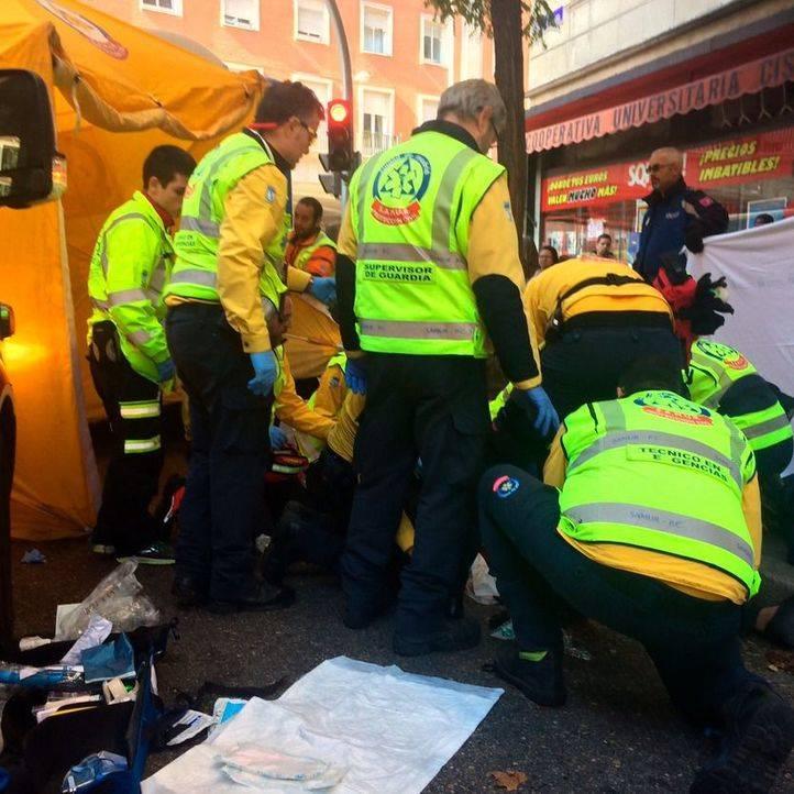 Muere una anciana, atropellada por un autobús de la EMT