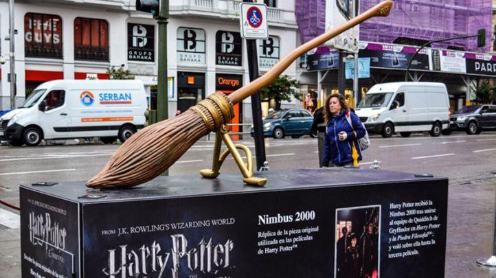 El mapa de la exposición callejera de Harry Potter