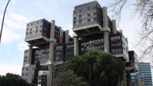 Edificio 'Los Cubos'.