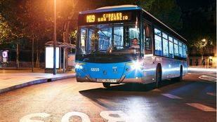 Autobús nocturno (búho) de la EMT