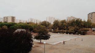 La plaza de La Vaguada, una de las once cuya remodelación se vota