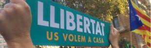 Manifestación por el autogobierno y la libertad de los 'Jordis'