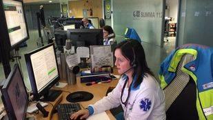 Centralita de los servicios de Emergencias de la Comunidad de Madrid