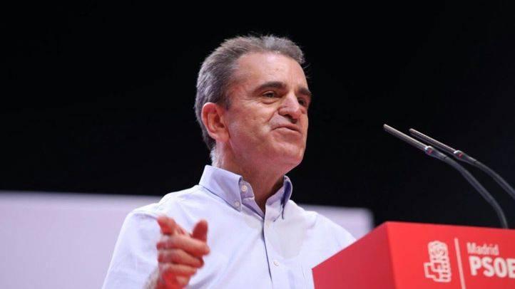 José Manuel Franco en el 13ª Congreso Regional del PSOE-M