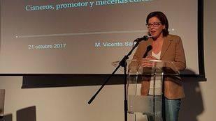 María Aranguren en la inauguración de las I Jornadas de Trabajo de la Asociación de Escritores de Madrid