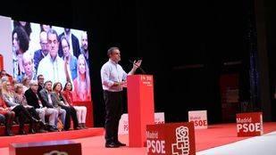 José Manuel Franco durante el 13º Congreso Regional del PSOE-M