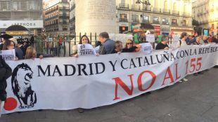 Más de 300 madrileños, a favor de la libertad de los 'Jordis'