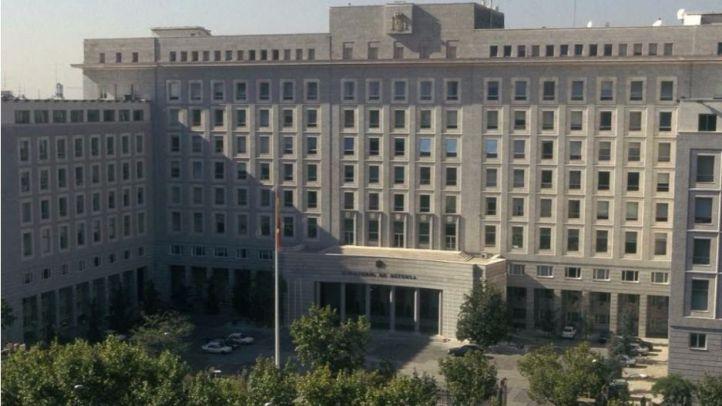 Los vigilantes del Ministerio de Defensa, en huelga