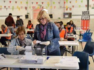 Comienza el recuento de votos para remodelar las 11 plazas