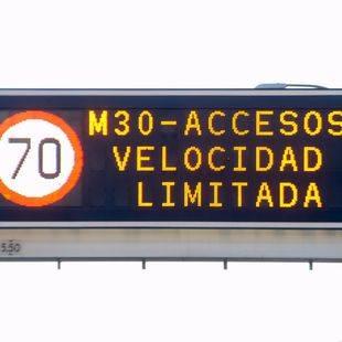 Activado este martes el escenario 1: velocidad limitada a 70 km/h
