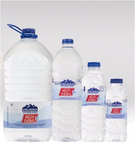 Uniaqua, agua de mineralización muy débil de Vichy Catalán