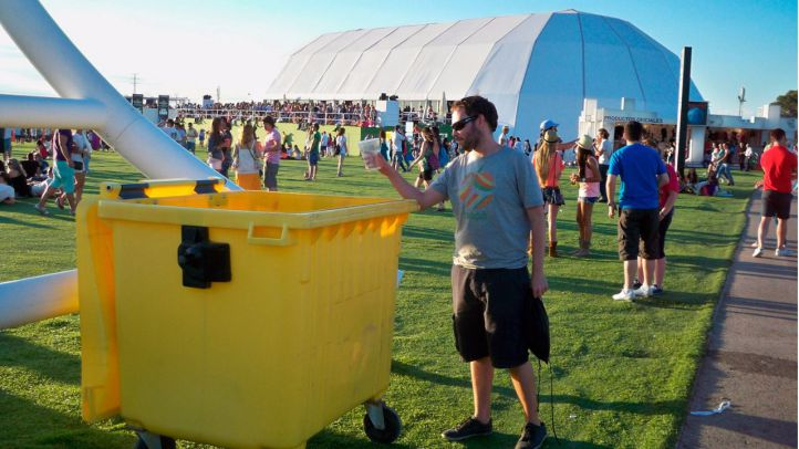 Ecoembes recicla más de 370.000 kilos de envases en festivales