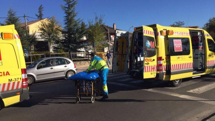 Un ciclista, grave tras chocar con un 4x4 en Villalba