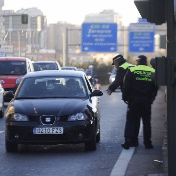 El tráfico, impasible ante las restricciones: solo se reduce un 1%