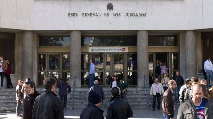 Los juzgados de Plaza Castilla serán vigilados por la Nacional