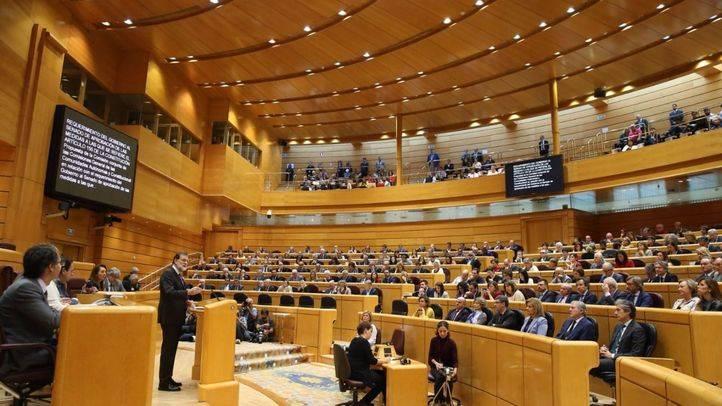 Mariano Rajoy comparece en el Senado sobre la aplicación del 155 en Cataluña