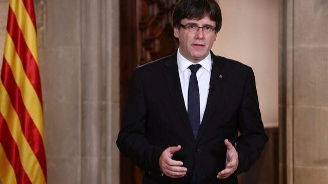 Foto de archivo de Puigdemont.