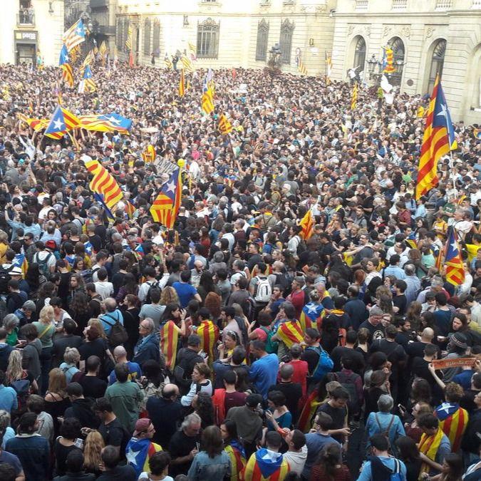 'Fora la bandera espanyola'