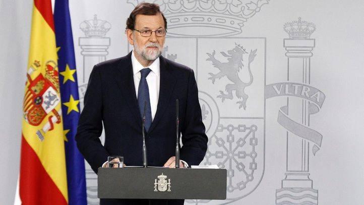 Comparecencia de Mariano Rajoy, presidente del Gobierno