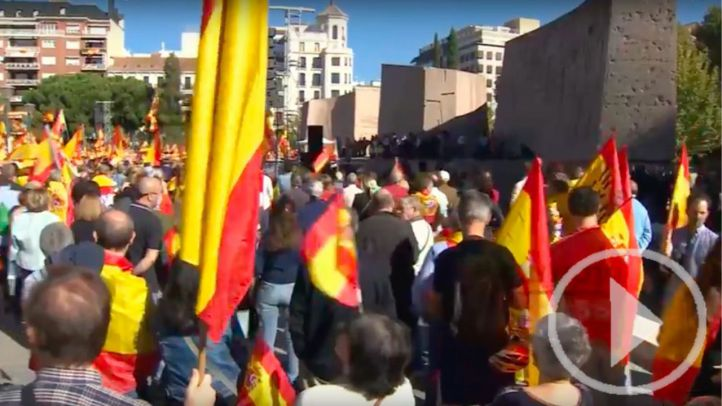 Manifestación en Colón por la Unidad de España