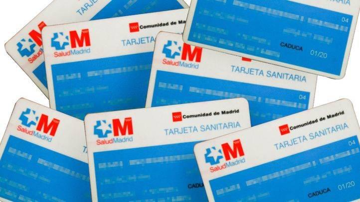 Tarjeta sanitaria de la Comunidad de Madrid