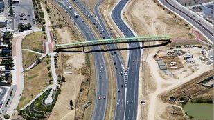 Carretera de Toledo y PAU 5 en Parla