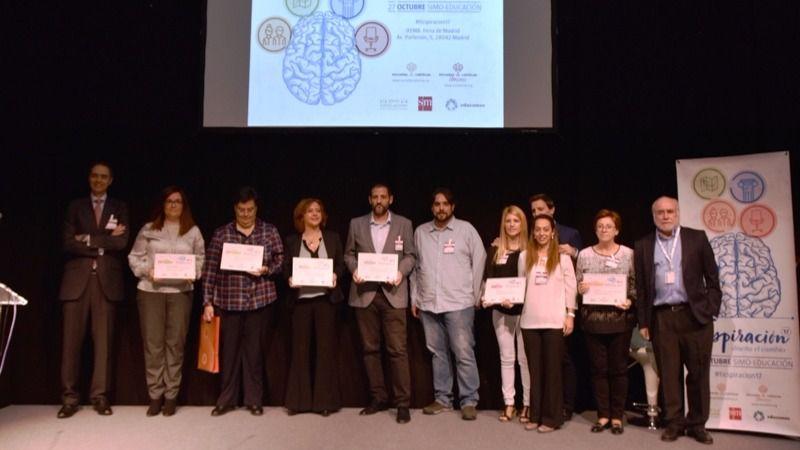 Durante el evento se procedió a la entrega de los Premios ecmTIC.