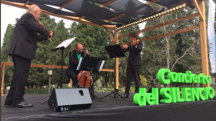 Uno de los cuatro conciertos que ha acogido el cementerio de La Almudena por el Día de Todos los Santos