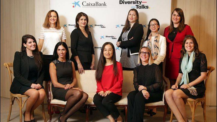 Participantes en las Diversity Talks de CaixaBank