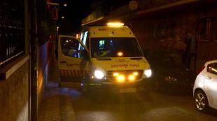 Los servicios de emergencias en el lugar del suceso