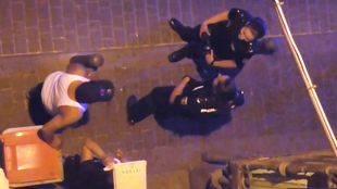 Los vecinos reconocen que la presencia policial ha aumentado en los últimos meses.