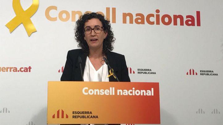 Marta Rovira, de ERC