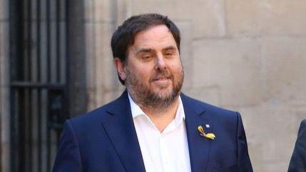 Oriol Junqueras, ex vicepresident cesado de la Generalitat