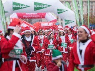 La carrera con más Papá Noeles del mundo