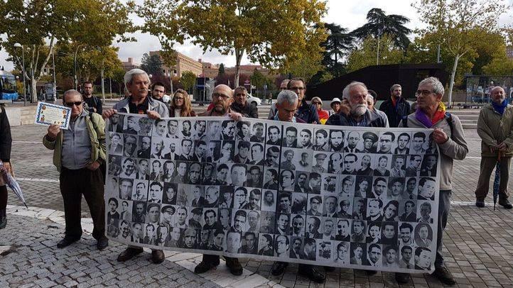 Homenaje a las Brigadas Internacionales por la Defensa de Madrid