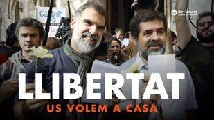 Concentración en Barcelona para pedir la libertad de los