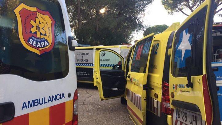 Muere una anciana al ser atropellada por un familiar a la salida del garaje