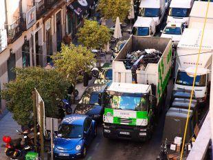 Seguimiento del 100% de la huelga de recogida de basura
