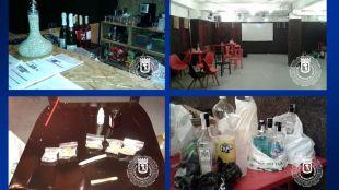 La Policía Municipal desmantela una fiesta ilegal en Puente de Vallecas con menores.